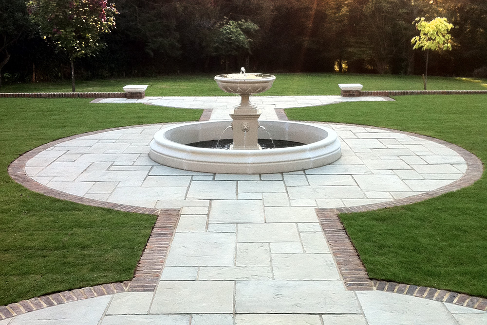 Project Fountain - Click to visit Landscaping